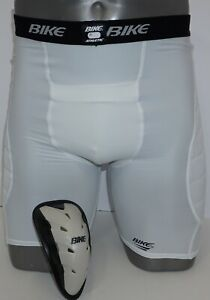 New BIKE SLIDING PADDED SHORTS WITH HARD CUP INCLUDED Adult X-LARGE