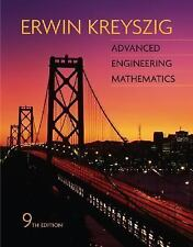 Advanced Engineering Mathematics by Kreyszig, Erwin. 0471488852 Hardcover Book.