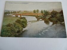 1 Vintage colour postcard of Monmouth from River Wye, No.A.7842.