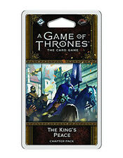 A Game of Thrones Lcg: The King's Peace Chapter Pack - New