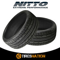 (2) New Nitto NT555 G2 245/35ZR19XL 93W Tires