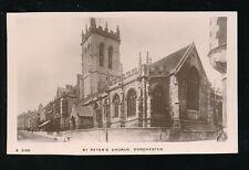 Dorset DORCHESTER St Peter's Church + local children c1900/10s? RP PPC Kingsway