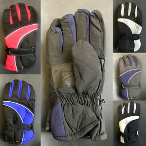 Adults Men's Winter Outdoor Sports Gloves Ski Snow Skiing Glove Windproof