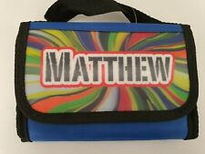 Personalised Matthew  Named Insulated Lunch Bag Box Kids Eco Friendly