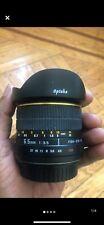 Opteka 6.5mm f/3.5 MF MC ASP Lens For Canon