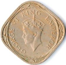 COIN / INDIA / 1/2 ANNA 1946 GEORGE V.  #WT3886