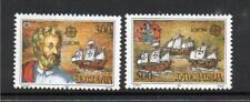 YUGOSLAVIA MNH 1992 SG2785-2786 EUROPA - 500TH ANV DISCOVERY OF AMERICA