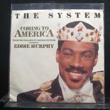 """The System - Coming To America 7"""" Mint- 7-99320 ATCO 1988 USA Vinyl 45"""