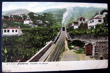 Portugal~1900's Madeira ~ Elevador do Monte~ Incline Rr