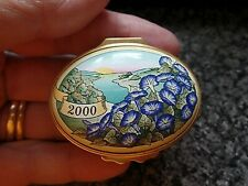 Halcyon Days Enamels A Year to Remember 2000 Boxed COA