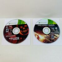 2 Game Lot- Gears of War: Judgment & 3 - Xbox 360 -Game Discs Only, Tested!