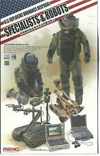 US  Explosive Ordnance Disposal, Specialists and Robots 1/35 HS3 ST