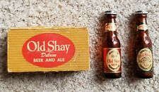 Vintage Old Shay Deluxe Beer & Ale Beer Bottle Salt & Pepper Shakers - Fort Pitt