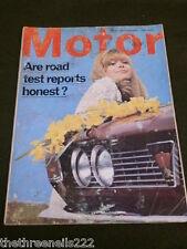 MOTOR MAGAZINE - ARE ROAD TEST HONEST - FEB 5 1966