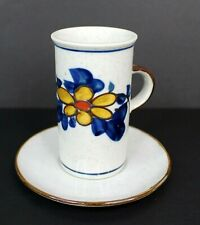 Espresso Cup and Saucer Hand Crafted in Japan for Lotus Vancouver B.C