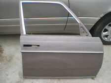 MERCEDES W 123 Chassis Right/Passenger Side Front Door.