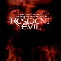 Resident Evil The Original Motion Picture CD Soundtrack nuovo celophanato
