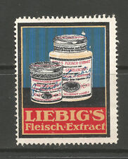 LIEBIG's MEAT EXTRACT advertising stamp/label