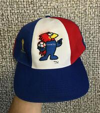 Vintage 1998 FIFA World Cup France Retro Football Rare Soccer Cap Hat Snapback