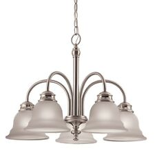 Brushed Nickel Kitchen Dining Room Chandelier Ceiling Lighting Fixture NEW