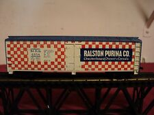 "Tyco HO Gauge  Boxcar""Ralston Purina Co ""  vintage 1970    5 3/4 inch long"
