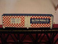 "Tyco HO Gauge  Boxcar""Ralston Purina Co ""  vintage 1970    5 3/4 inch long"