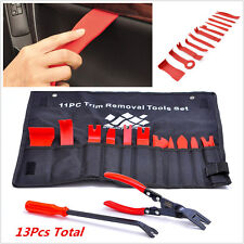 13Pcs Auto Upholstery Tool Nylon Trim Removal with Clip Pliers Fastener Remover