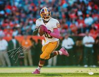 Robert Griffin III Autographed 16x20 Looking To Pass Photo- JSA W Authenticated