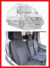 Tailored VAN seat  covers for  MERCEDES SPRINTER 2015  W906 - PATTERN1