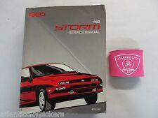 1992 GEO STORM FACTORY SERVICE SHOP REPAIR MANUAL