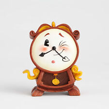 "4058893 4.13"" Cogsworth Clock World of Miss Mindy Disney Beauty and the Beast"