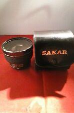 Sakar ultra  macro wide lens 0.6X  Close Up +8 and case