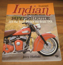 1901-1983 INDIAN MOTORCYCLE BOOK GUIDE CHIEF/SCOUT/FOURS/TWINS/RACERS_Hatfield