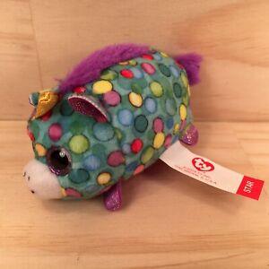 "STAR THE UNICORN ""Teal"" Gorgeous Miniature Magic Animal Soft Toy Stuffed Friend"