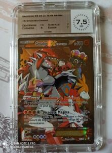 Carte Pokémon Groudon EX - XY- : Double Danger - 15/34 - MTG 7.5 NM