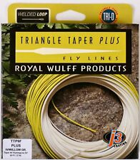 Royal Wulff Triangle Taper Plus 9 WT Floating Fly Line Free Fast Shipping TTP9F