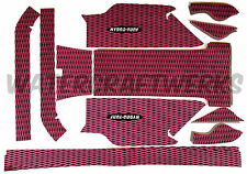 Hydro-Turf In Stock - Yamaha Superjet with Wamiltons Mat Set - Black on Pink CD