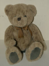 "10"" Plush Duncan Toy Teddy Bear Excellent shape Brown With Ribbon"