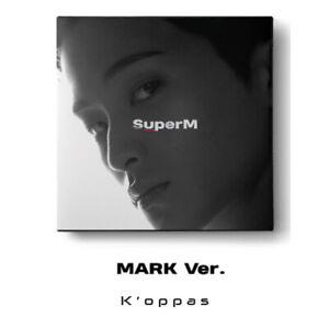 SUPER M 1st Mini Album MARK Ver. CD+Booklet+Mini Booklet+Random Card+Poster Kpop