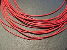 Rote Fäden & Bänder zur Schmuckherstellung, Leder-Drähte