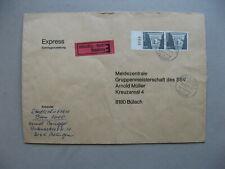 SWITZERLAND, expresse cover 1977, pair Sfr 1,70 Roman capital with margin