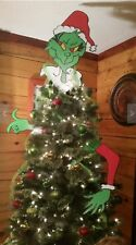 Popular Grinch New 3 piece Christmas Grinch Tree Topper