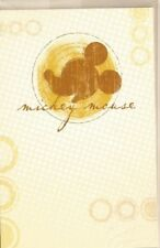 DISNEY Mickey Mouse ( orange/brun ) carte sans texte