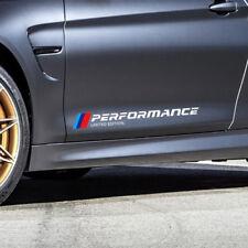 X2 BMW Performance Seitenaufkleber Weiß 50 cm TOP Qualität 1er 3er 5er 6er M