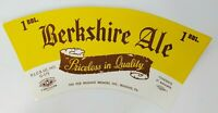 """VINTAGE Reading Brewery Co. Berkshire Ale """"Pricelsee In Quality""""  Label 1 BBL."""