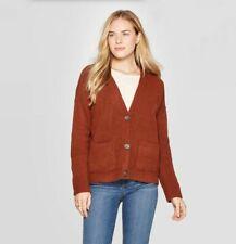 Universal Thread Women's Long Sleeve Cardigan Brown 555612
