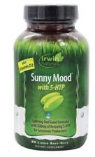 Sunny Mood with 5-HTP, Plus Vitamin D3, 80 Liquid Soft-Gels, Exp 07/2021