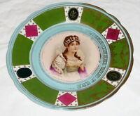 Alter Vienna Teller Wien Wiener Porzellan Werkstätte ? Josephine plate porcelan