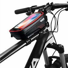 KT-GARY Bike Phone Mount Bag, Bicycle Front Frame Bag Waterproof Touch Screen Ph