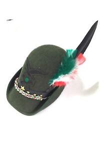 Cappello Alpino Congedante per Adunata completo di Fregio e Penna